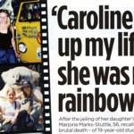 Caroline lit up...