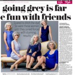 going grey...