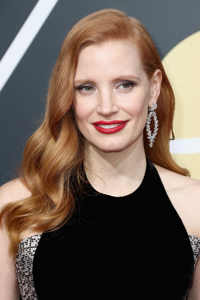 Jessica Chastain, The Grammy's 2018