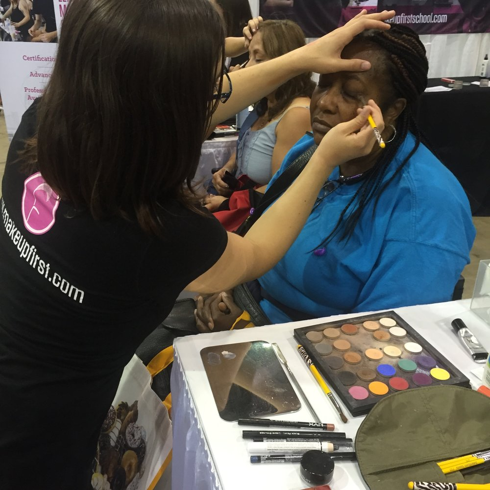 Make Up First Chicago Women's Expo 2017 4
