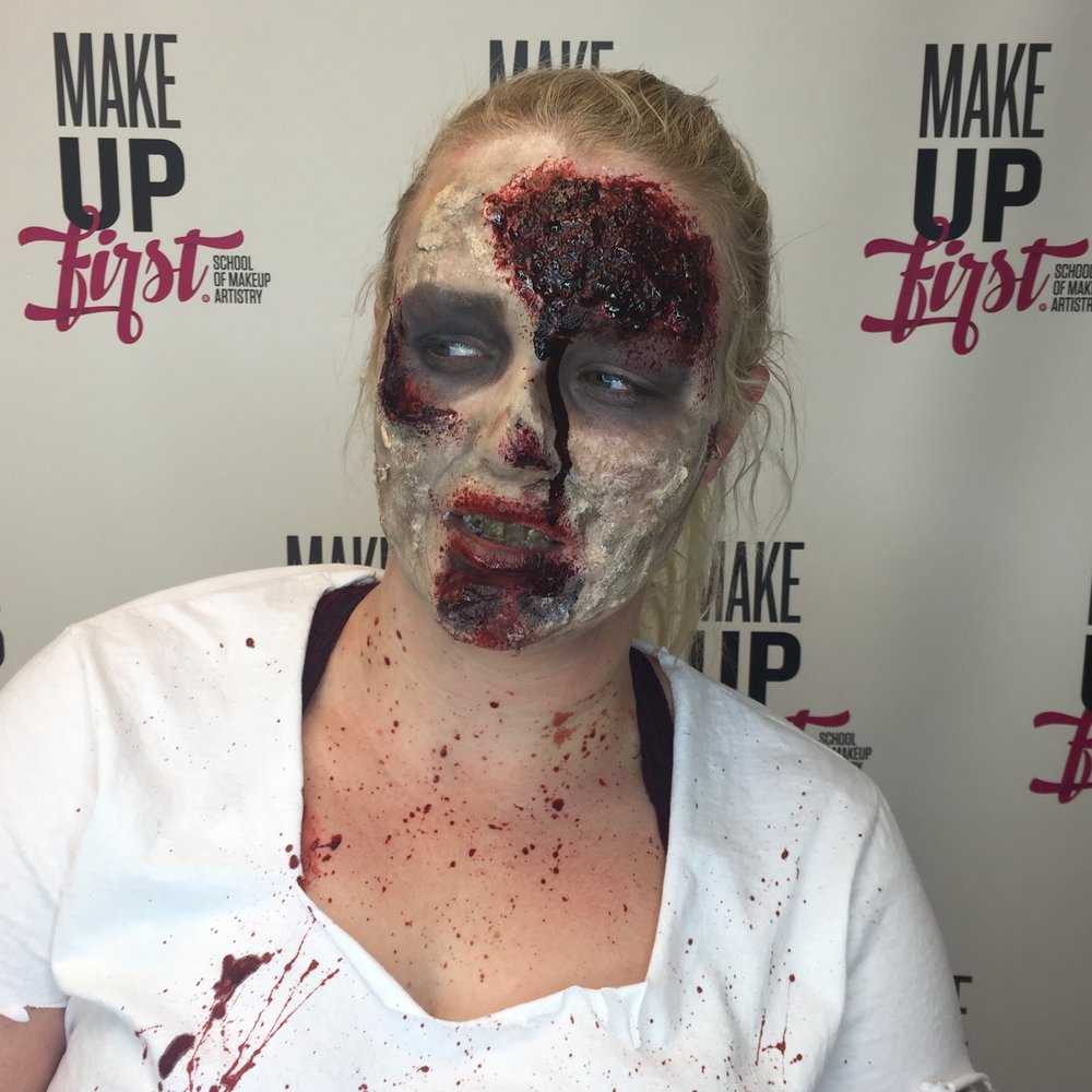Make Up First WGN Around Town Halloween 2