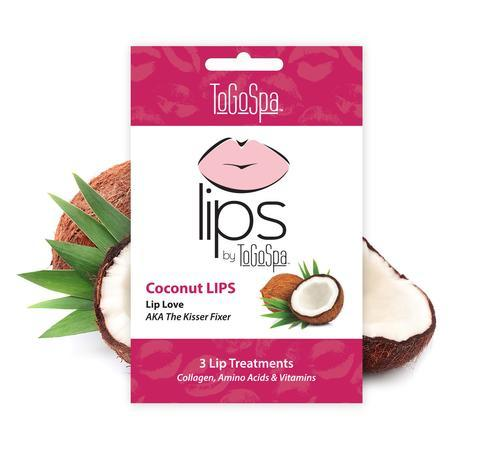 ToGoSpa Coconut Lips- The Kisser Fixer