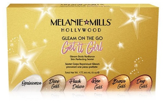 Melanie+Mills+Hollywood+Get+it+Girl+Gleam+on+the+Go+Collection