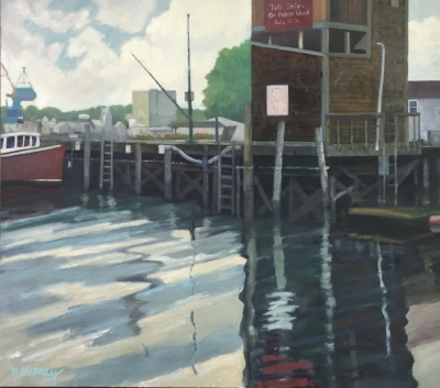 Pierce Wharf  , Acrylic   Here and There: Contours Real Imagined