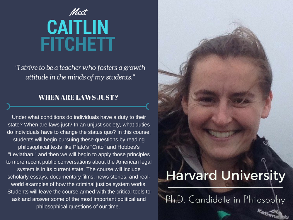 """The Demands of Morality""   Caitlin Fitchett,  Harvard Univeristy"