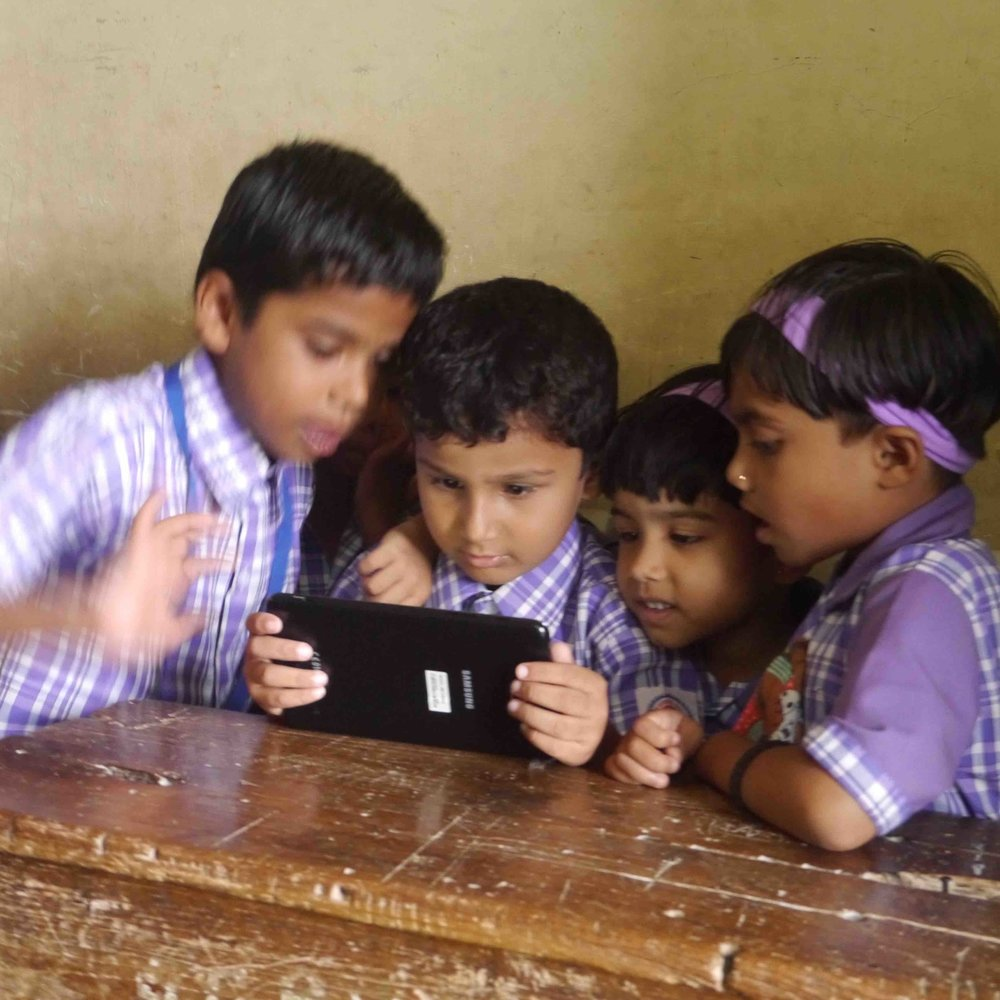 Schools - With teachers who can adapt and create early learning apps and then share with directly with parents, or use on in-school laptops or tablets.