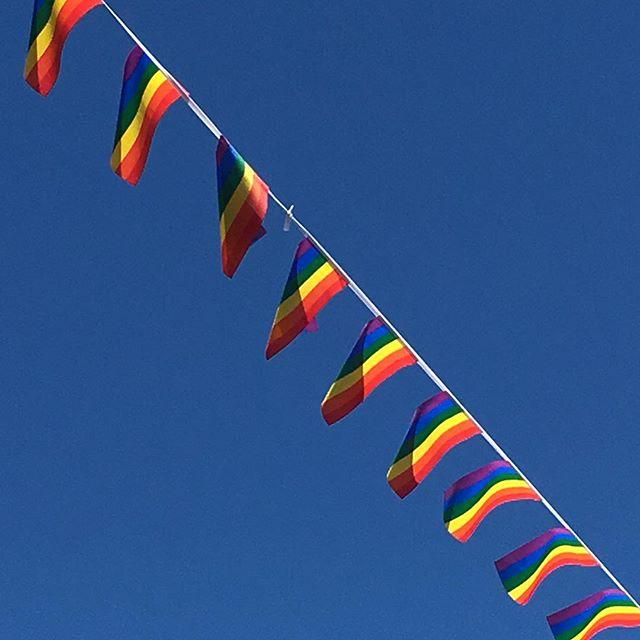 Happy Pride, everyone! #brightonpride #pride #brighton #rainbowcity 🌈