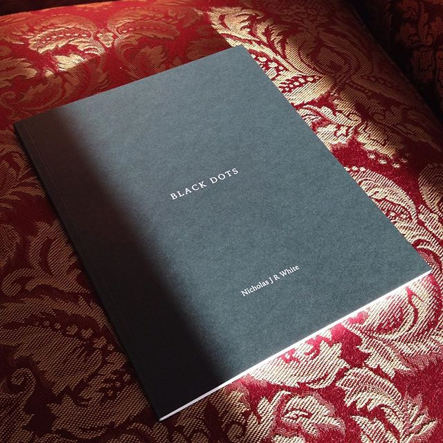 I've taken my first steps into the world of @anotherplacepress with @nicholasjrwhite series #blackdots Keep up the great work @iain.sarjeant #photography #photobook #collaboration #publishing