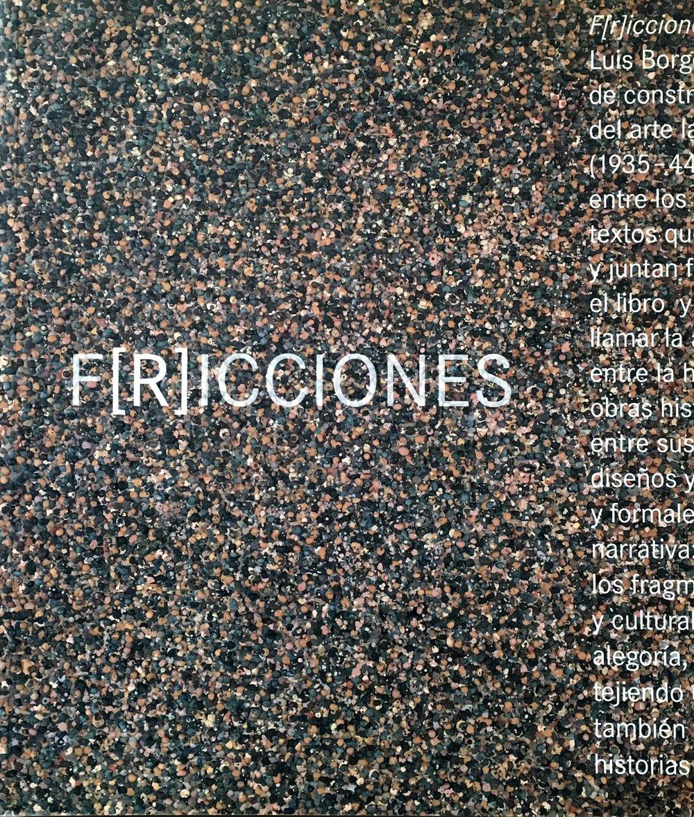 F[r]icciones  Museo Nacional Centro de Arte Reina Sofía ISBN: 84-8026-968-5