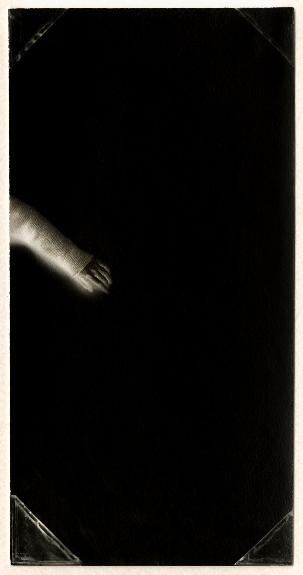 Untitled (Hand) . Toned gelatin silver print. 3 1/2 x 1 1/2 in.