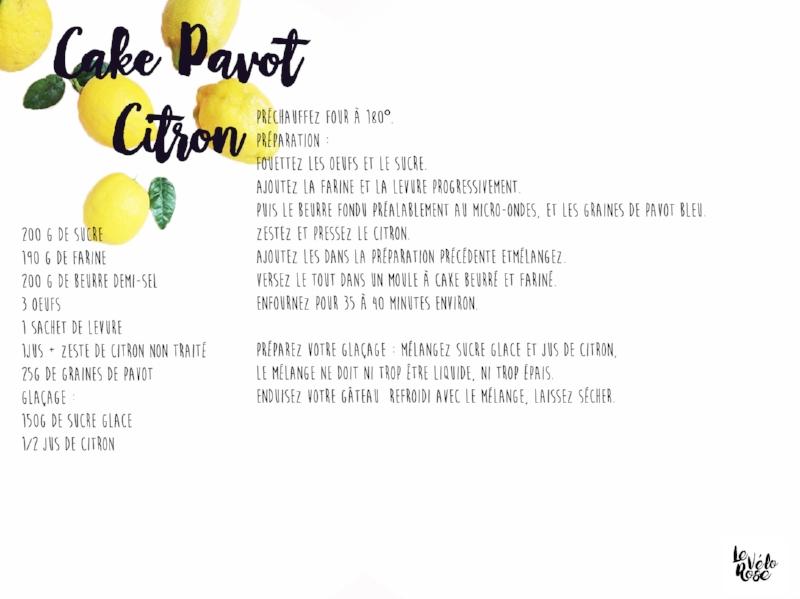 Fiche cuisine citron