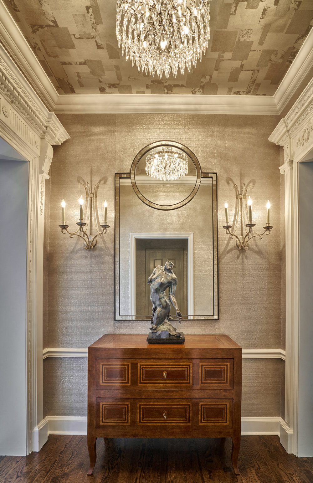 Elegant vestibule