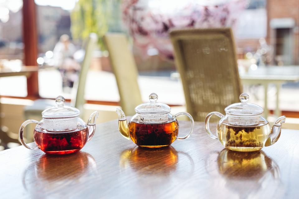 Délices' tea pots