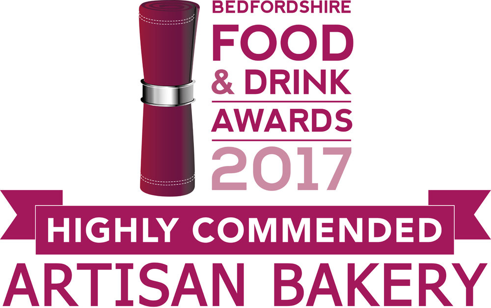 Highly Commended Artisan Bakery, Beds Food & Drinks Awards 2017