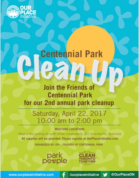 Centennial Park Clean Up! — STEPHEN HOLYDAY