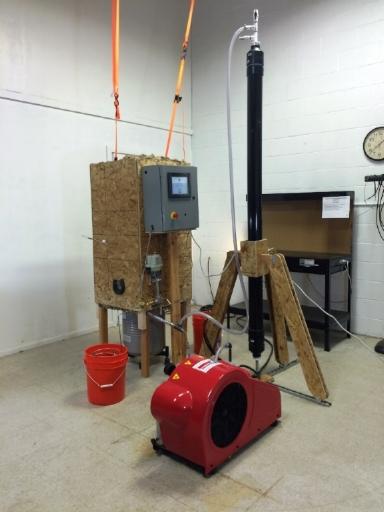 Prototype LAESS & Scrubber
