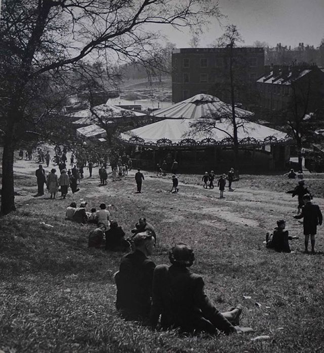 "Newly available online, an original Wolfgang Suschitzky photograph titled ""Hampstead Heath Fair'. More details on our website https://www.photoimagegallery.com/shop-vintage-photos/hampstead-heath-fair  #wolfgangsuschitzky #argenticphotography #photoimagegallery  #photography #vintagephotography"