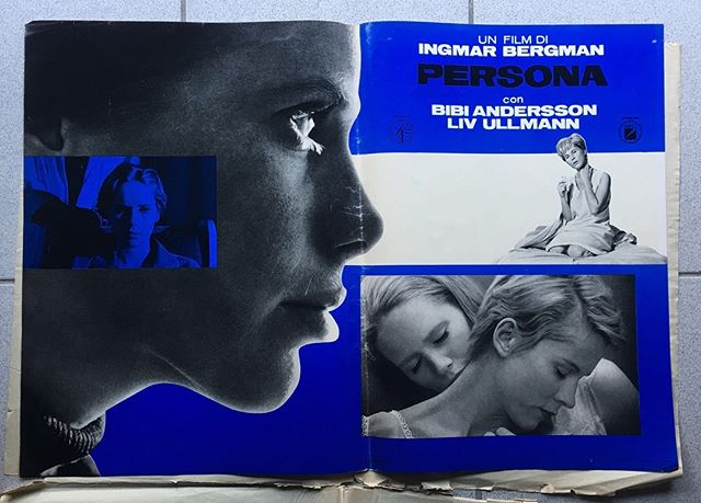 "Featured in the NYT today Ingmar Bergman on the occasion of the centennial year of his birth and the release of a new box set entitled ""Ingmar Bergman's Cinema"" Bergman's movies are still relevant today and ""his place in history is secured"" ""Persona (1966) is his most avant-garde influenced picture and is most starkly cinematic. The whole  set of 8 photobusta's for ""Persona"" from 1966 is available on our website https://www.photoimagegallery.com/shop-film-posters/persona-1966 #persona #ingmarbergman #NYT #criterioncollection #photoimagegallery"
