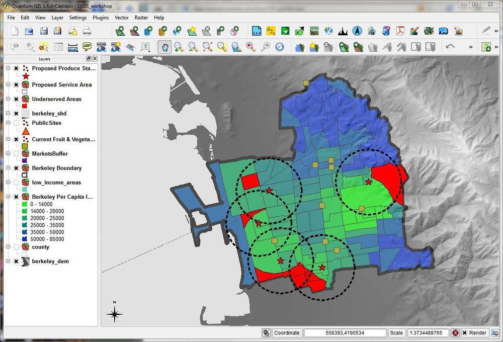 QGIS 1 6 'Copiapó' released — Kelly Research & Outreach Lab