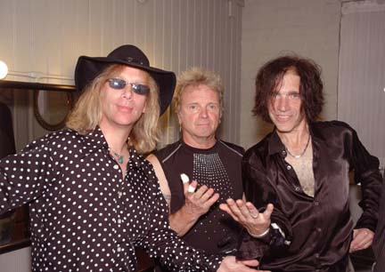 With Joey Kramer and David Hull