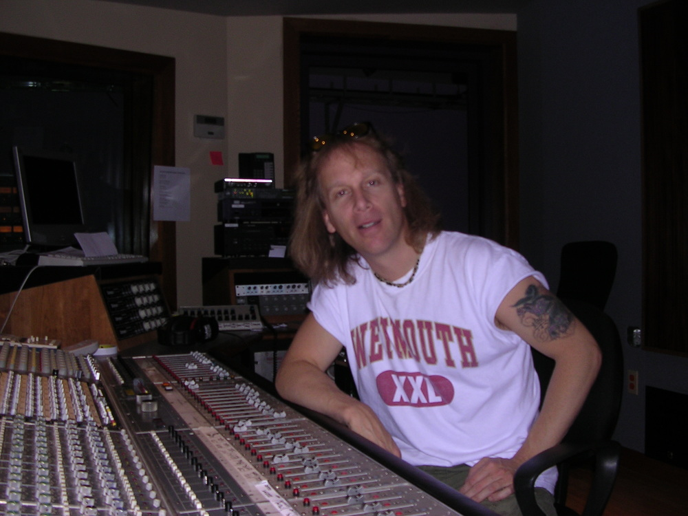 "At Aerosmith's studio ""Pandora's Box"""