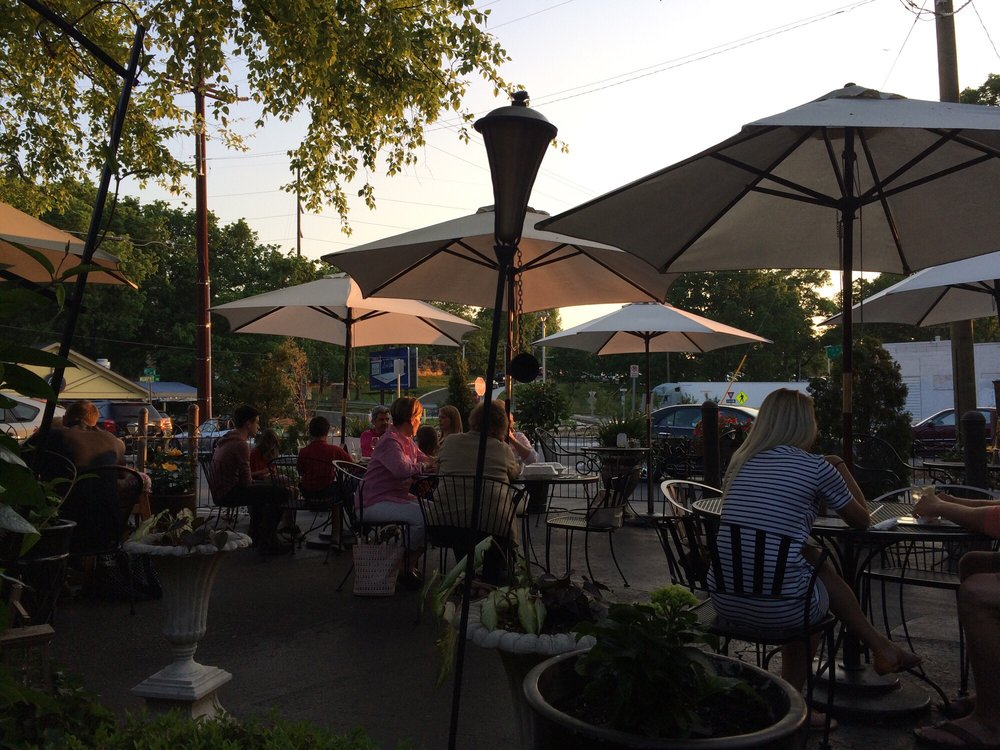 McCabe Pub Patio - Evening