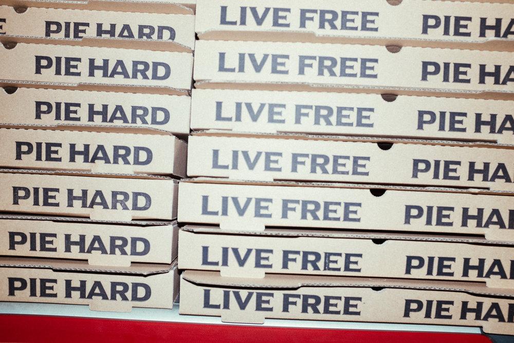 Live Free Pie Hard