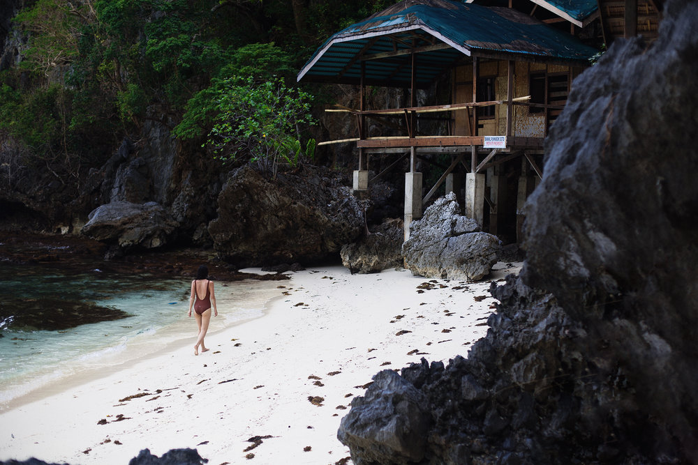 Alone on an island in El Nido (Tour A & D if you want to end up at this exact same place)