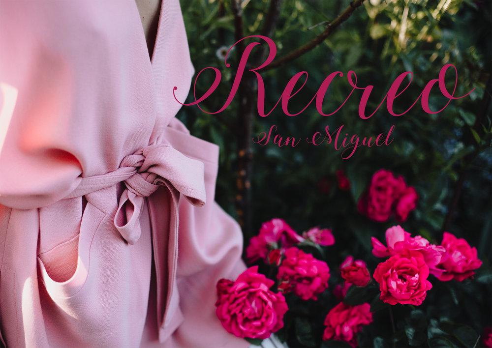 Recreo San Miguel Pink Vest Dress