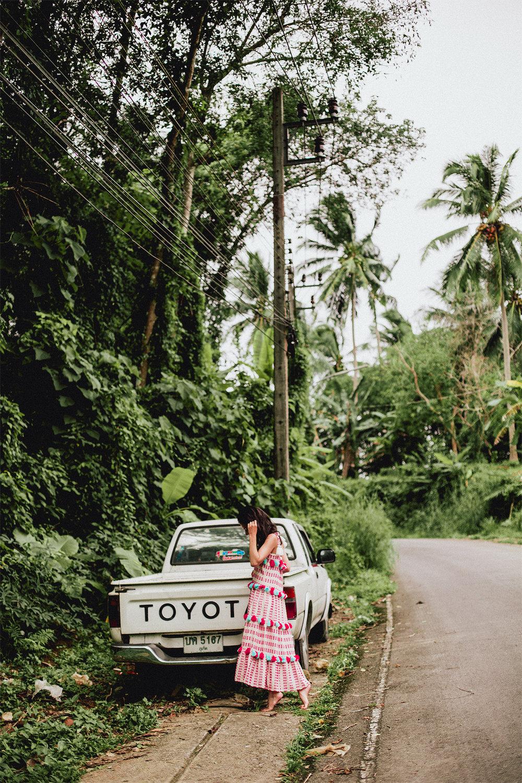 Tessora Clothing in Phuket, Thailand