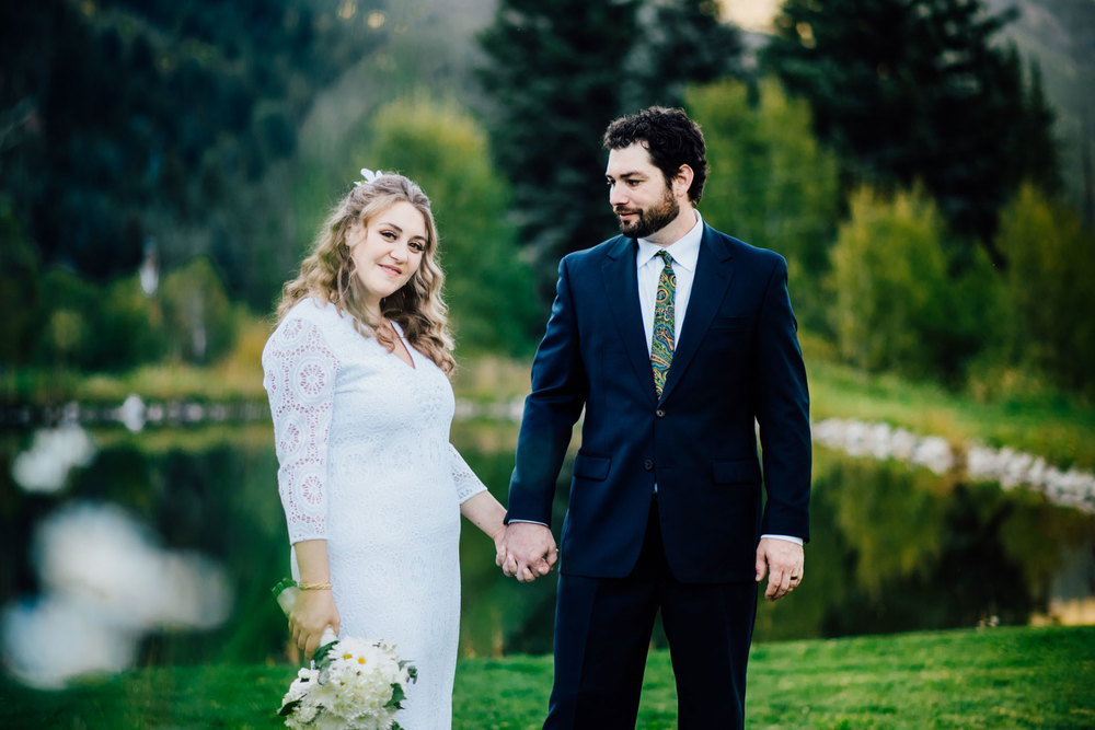Northern California Offbeat Unconventional Wedding and Portrait Photographer Kate Donaldson captures a handmade Colorado Wedding