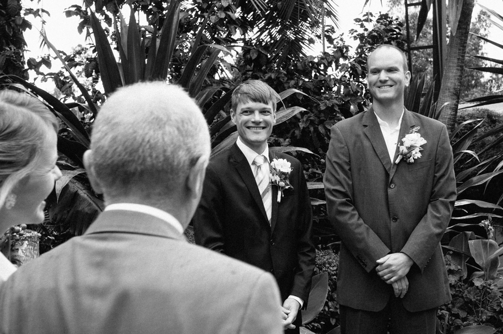 Ceremony © Arcata wedding photographer Kate Donaldson Photography