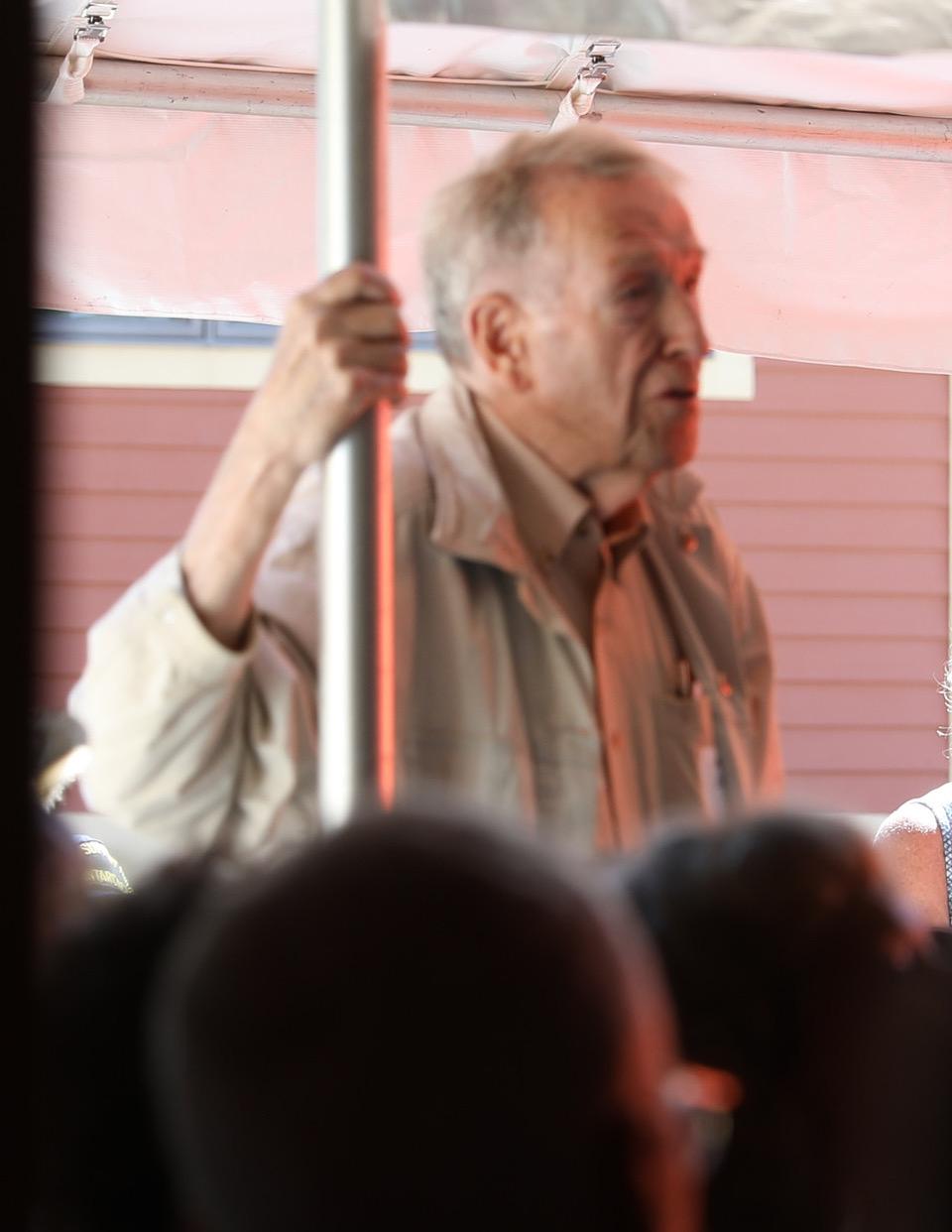 Ronne Expedition vet Bob Dodson
