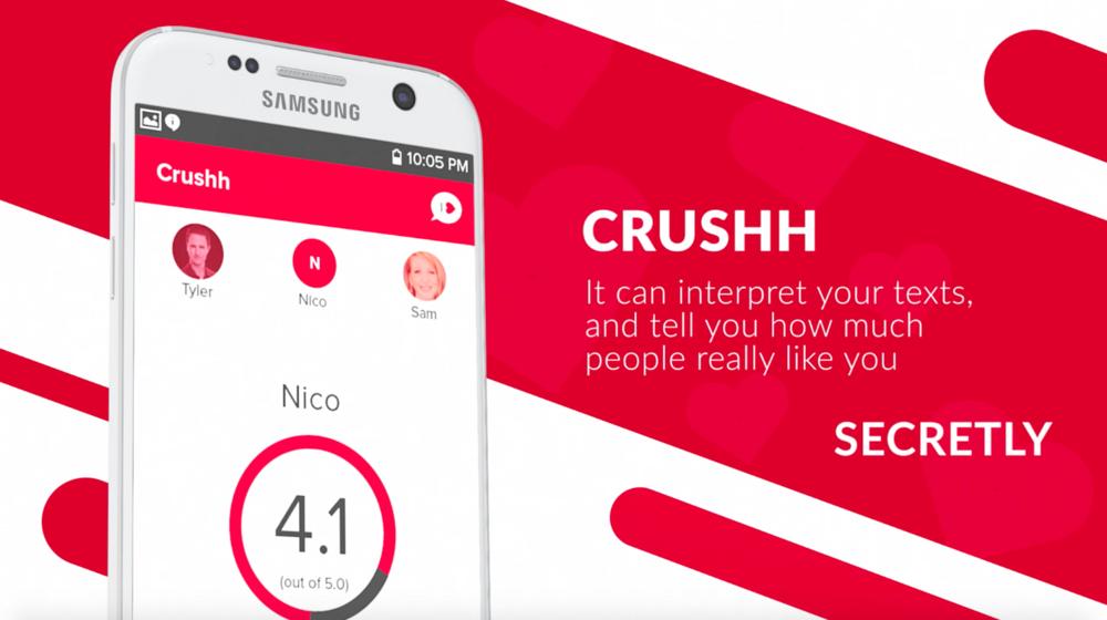 crushh texting relationship analyzer app crushh ai driven text