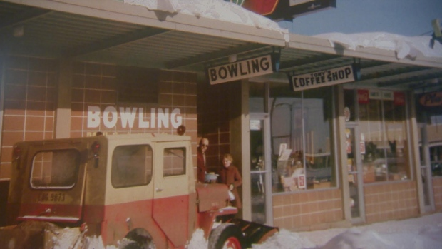 Plaza Bowling was opened by Stride's grandfather, Lawrence Stride in 1959. (CBC Edmonton )