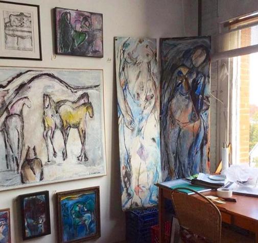 Paintings by Artist Judith Corrigan