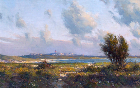 Sankaty Light Nantucket – from the artist's website