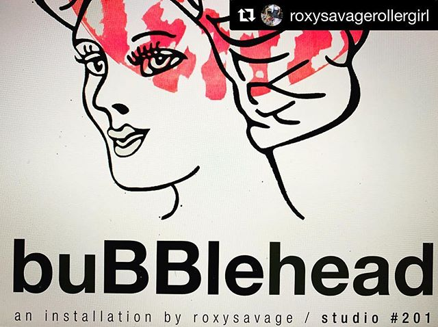 #Repost @roxysavagerollergirl with @get_repost ・・・ #buBBlehead an #installation @amfabarts #openstudios2018 #bridgeportct #nov10&11 10-5pm #objects#readymades #showercap #bubbleheads unite! @geep8 ❤️Amfabarts.com