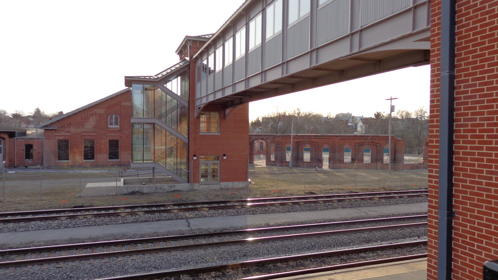 Caperton Train Station & Bridge to Roundhouse