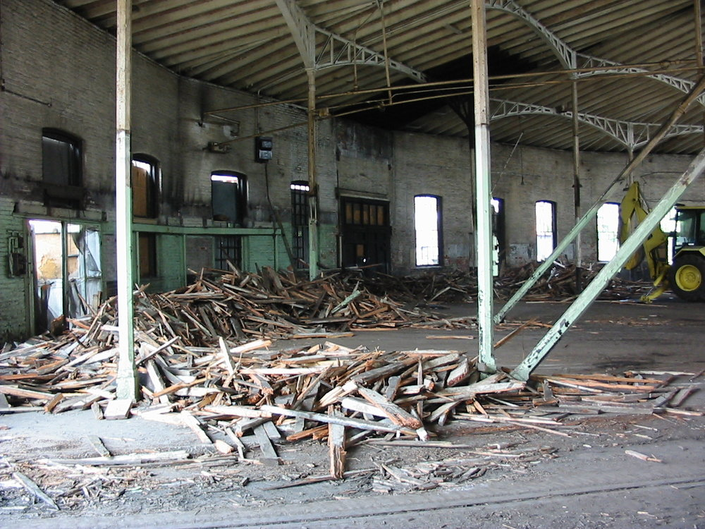 Roundhouse before restoration began