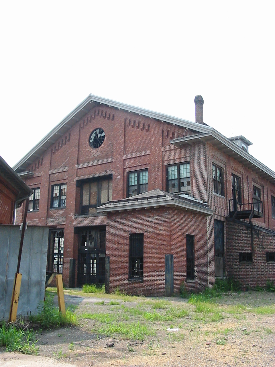 Bridge and Machine shop before restoration