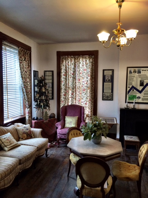 Gentlemen's Parlor at Belle Boyd House