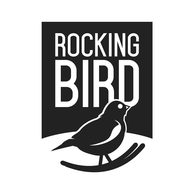 Rocking Bird | Wood + Metal