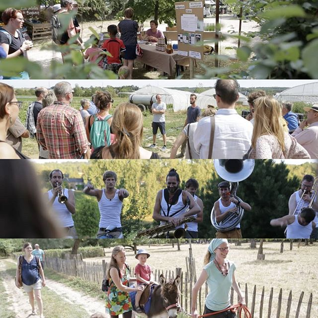 Première édition de Ferme en Fête. Plus de 300 personnes sur le weekend et comme toujours un énorme plaisir de vous accueillir à la ferme 👊🏻 prochain rdv 8/9 septembre