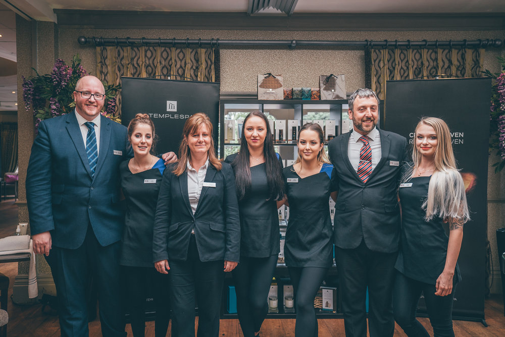 Connaught Hotel and Bluewater Spa team.jpg