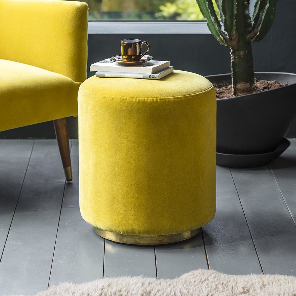 Carnaby Footstool from Atkin & Thyme