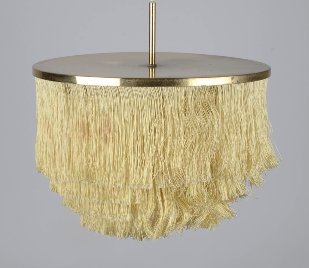 Fringed Pendant Light from 1st Dibs