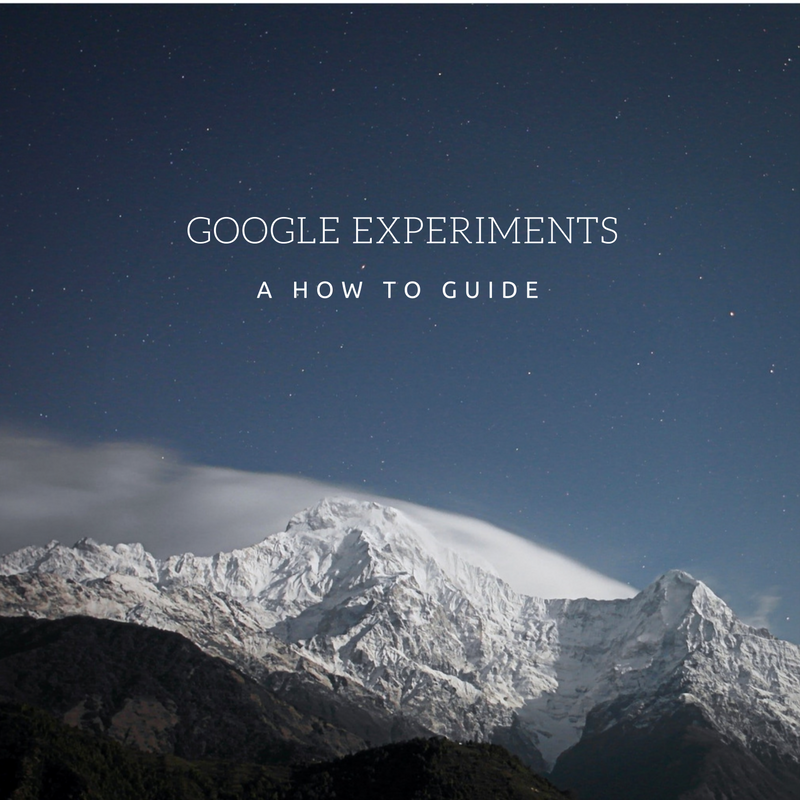 Google Experiments - Digital Marketing & Digital Advertising in the Outdoor Industry - Akers Digital