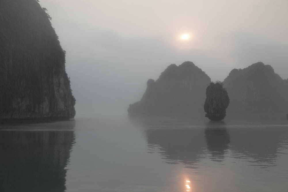 """Dawn, Halong Bay"""