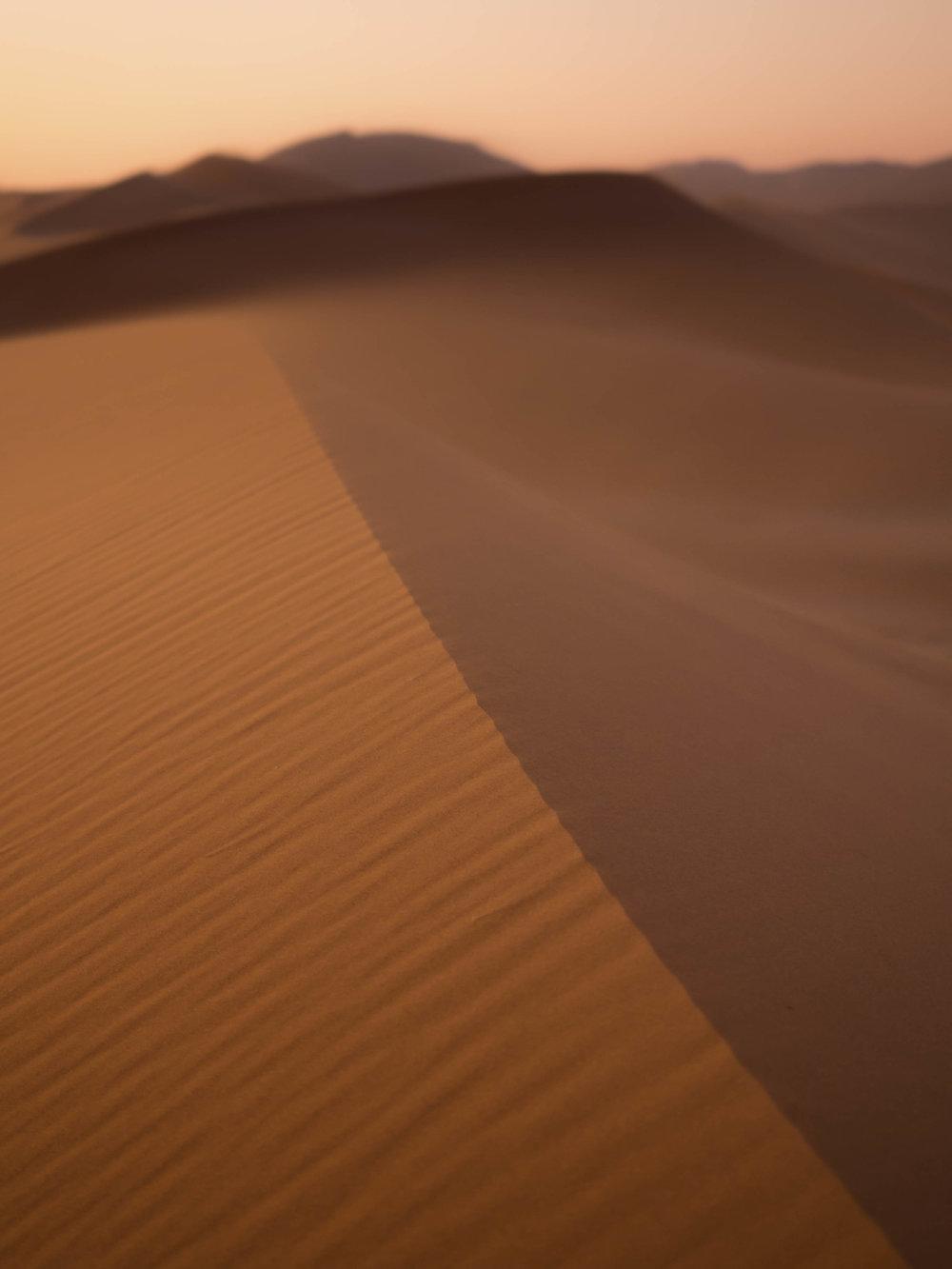 """""""Namibia Sand Dunes"""""""